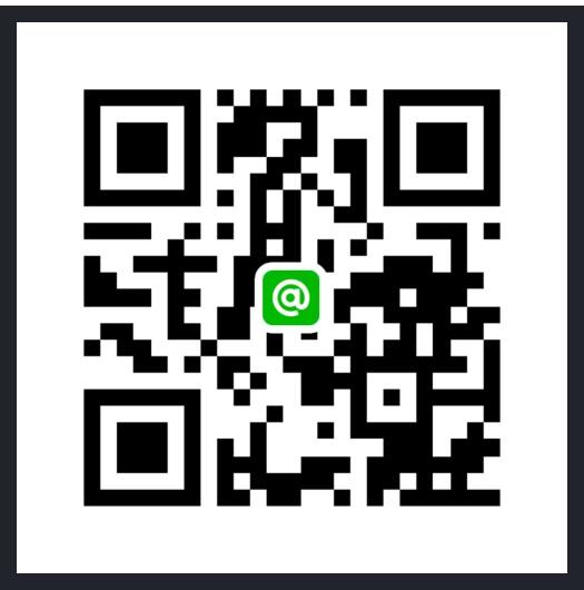 LINE@(お問い合わせ)QRコード